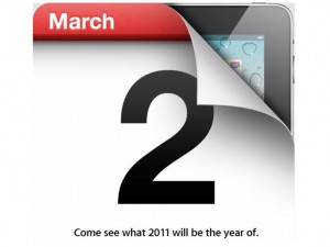 Apple to Launch ipad 2 on March 2nd