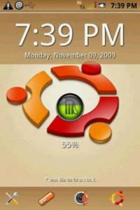 Android Ubuntu Brown Theme