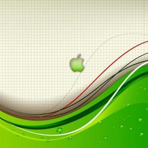 Apple abstract ipad 2 wallpaper
