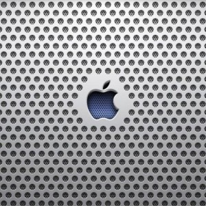 apple logo speaker ipad 2 wallpaper