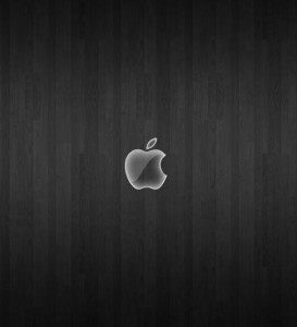 Black wood mac wallpaper