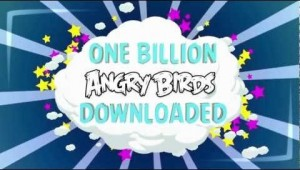 Angry Birds Game Hit 1 Billion Downloads