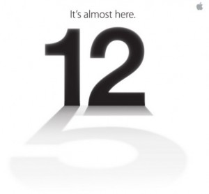 Apple to Launch iPhone 5 on September 12