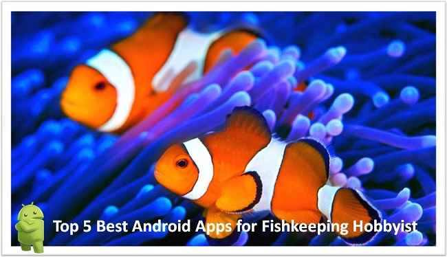 Top 5 Best Android Apps for Fishkeeping Hobbyist