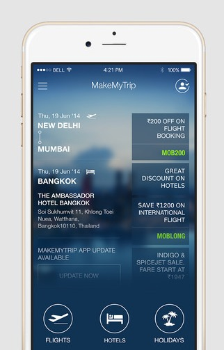 MakeMyTrip APK download