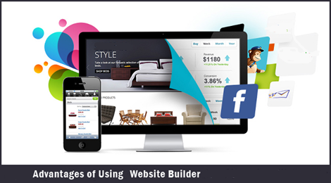 advantages of using website builder