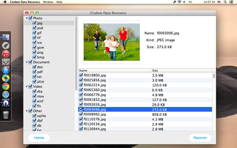 Cisdem Data recovery Mac