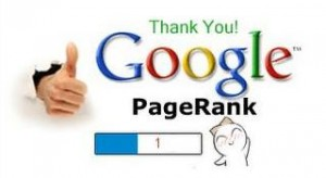 google updated pagerank