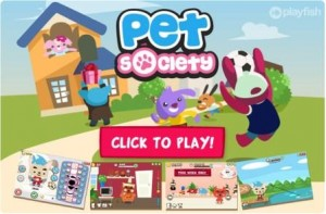 game pet society