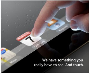 ipad 3 launch event