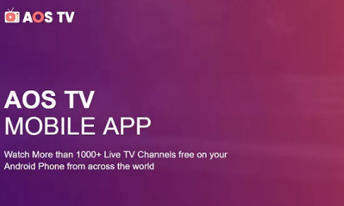AOS TV APK Download Free For Android