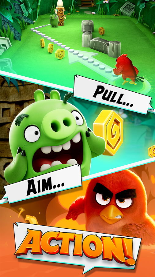 Angry Birds Action Free Download