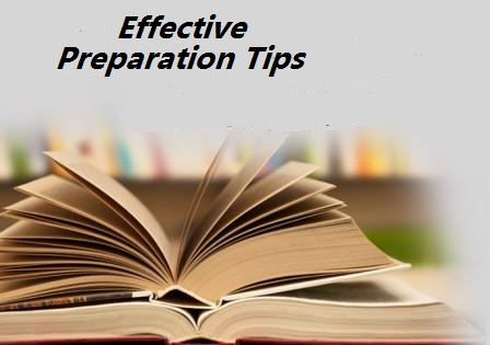 Effective Preparation Tips