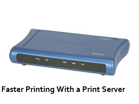 Experience Faster Printing with A Print Server