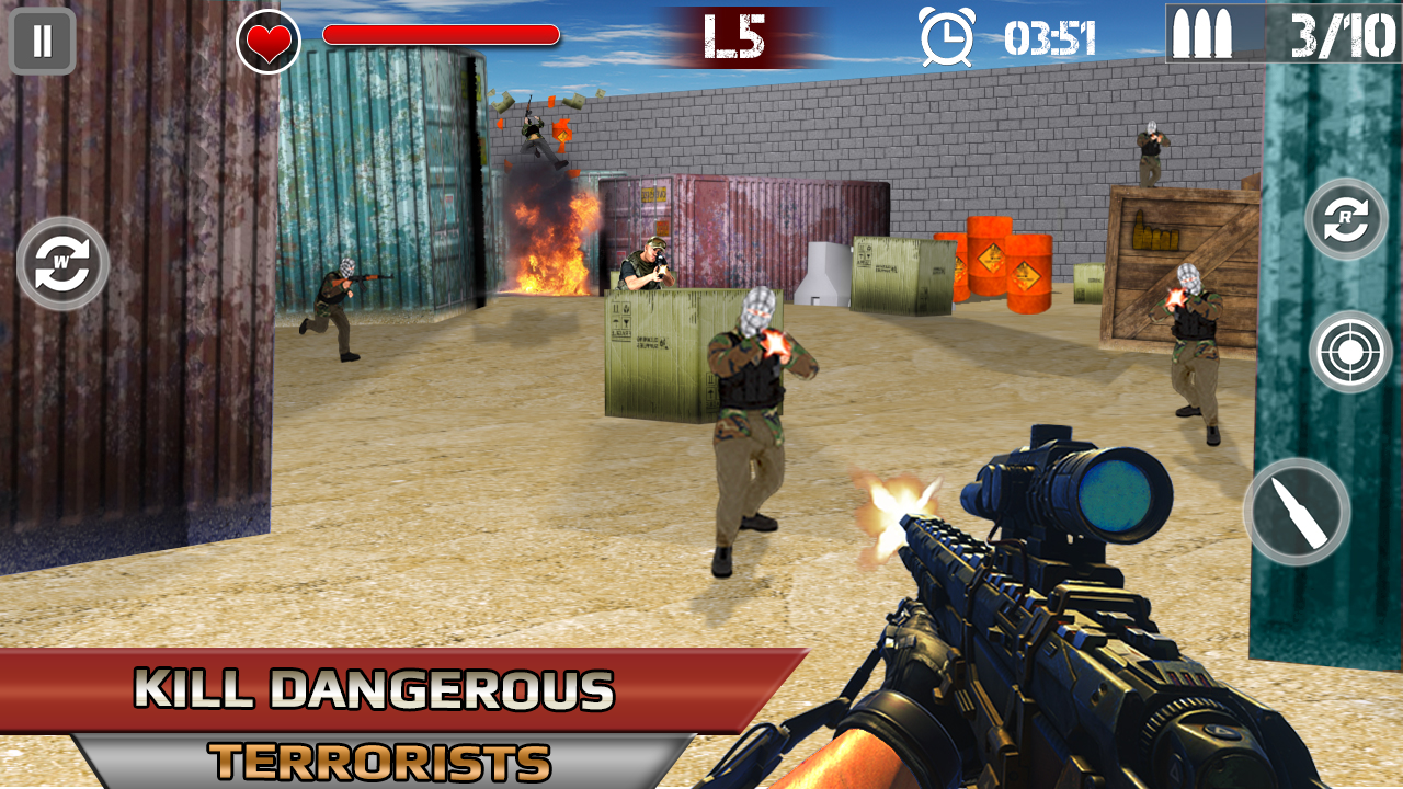 Modern Fury Gun Shooting APK Download
