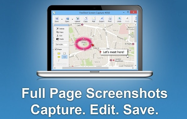 How to Take Screenshots in Firefox, Chrome and Internet Explorer