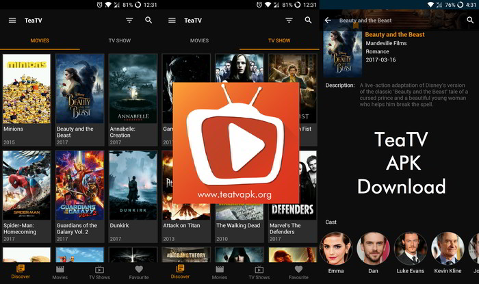 TeaTV APK Download Free For Android [Ad Free version]
