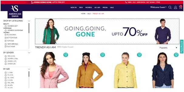 international shopping in India